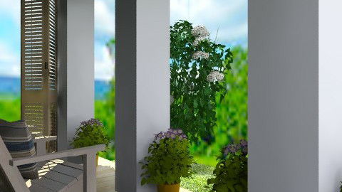 Veranda - Country - Garden  - by PomBom