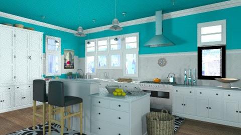 Cape Cod Kitchen loft - Classic - Kitchen  - by ferguesfalls