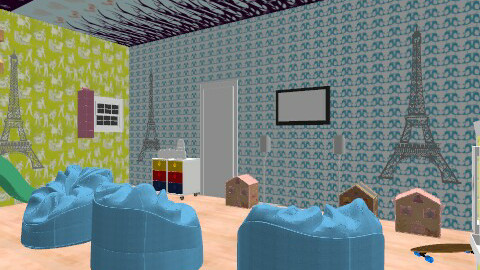 kids play room - Glamour - Kids room  - by ren160