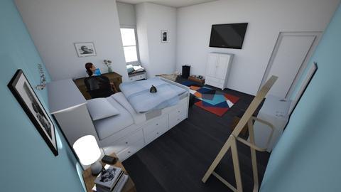 bedroooooooom - Modern - Bedroom - by Heidijz