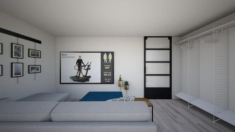Basement Bedroom - Minimal - Bedroom  - by rexwood