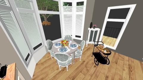 The Crew House - Living room - by emilyann822