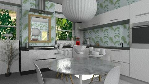 Plant Kitchen - Modern - Kitchen  - by MiliOtero