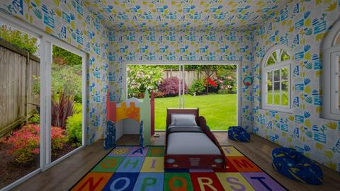 city - Kids room  - by MomoBeag