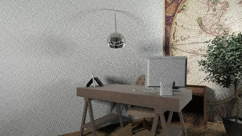 brown office - Eclectic - Office  - by Giovani A Costa