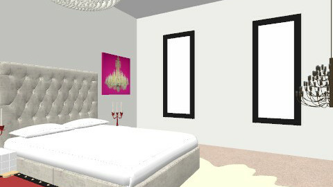 Anti/Mod - Glamour - Bedroom - by Maria Jose Tenorio
