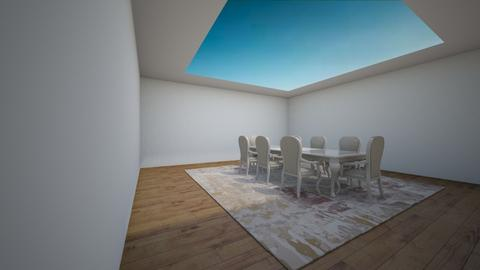 skylight Dining room - Modern - by h347