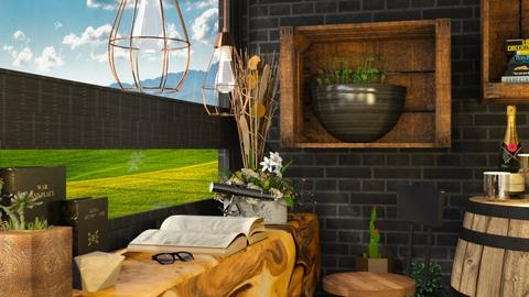 Details - Rustic - Living room  - by millerfam