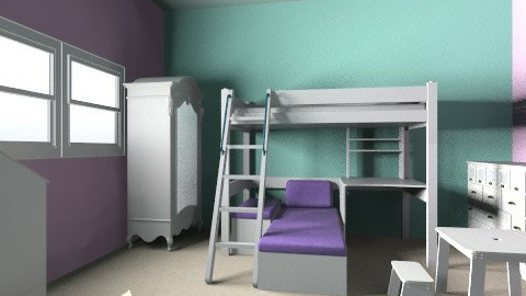 Zoes room  - Glamour - Kids room  - by nbriault