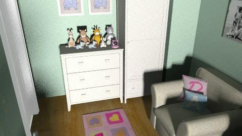 dorota2 - Classic - Kids room  - by dorotapomiankiewicz