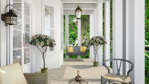 Front Porch - Garden - by natedawg556
