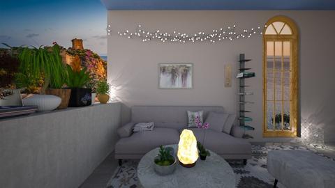 blury - Feminine - Living room  - by BlackOrchidea