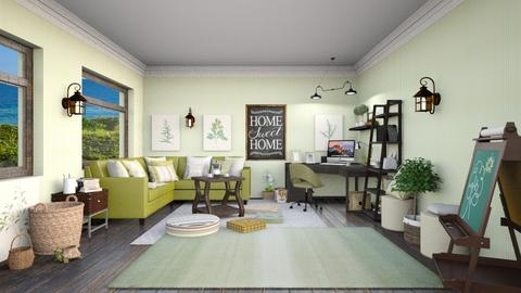 Linda Rae - Office  - by Ferplace