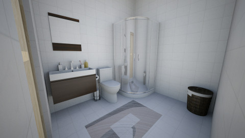 Apartamento banheiro - Classic - Bathroom  - by Vic Tavares