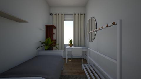 moj pokoj - Modern - Bedroom  - by boryn