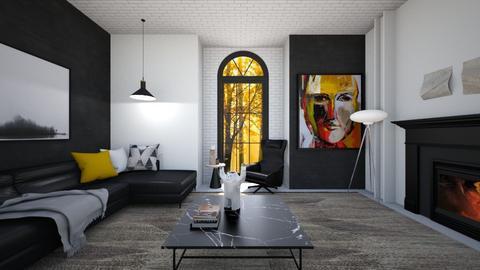 Barangaroo - Living room  - by Hany Mustika
