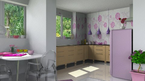 My Girly Kitchen & Dining  - Modern - Kitchen  - by jackiefruit
