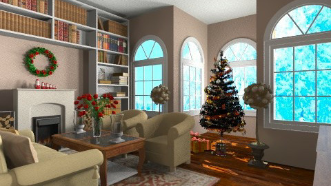 waiting for Christmas - Classic - Living room  - by martinabb