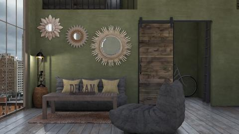 home - Living room  - by daydreamer84