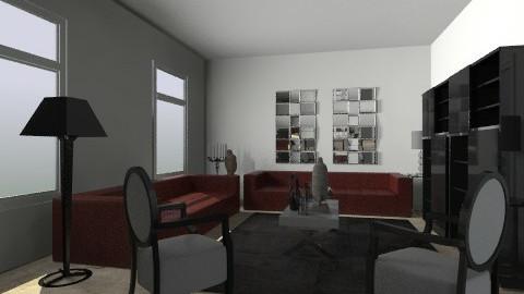 x - Retro - Living room  - by Emiro J Almarza