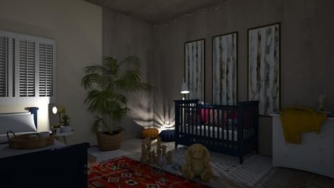 Nursery competition  - Kids room  - by Puppycrumpets_123