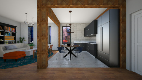 The New B - Eclectic - Living room - by 3rdfloor