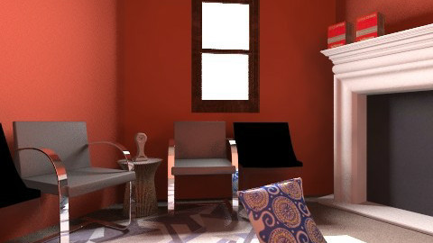 Famroom - Retro - Living room  - by Thekids ofBlender