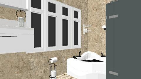 Bathroom K - Modern - Bathroom - by sumz78