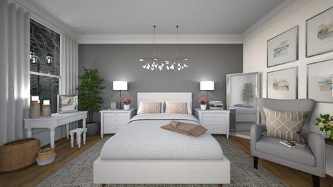 Stormy Bedroom - Bedroom  - by mandalea545