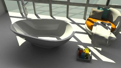 Design re-do: A giant room and a spa like getaway - Modern - Bathroom  - by idesine