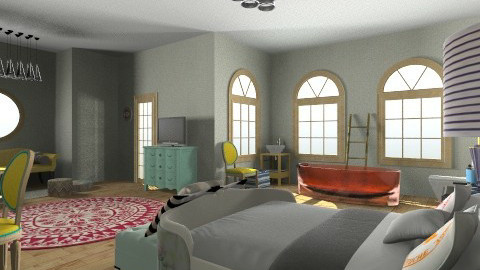 The Den - Eclectic - Bedroom  - by Trimble Official