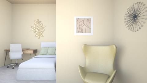 Bright - Bedroom  - by Cuddle_Puppy