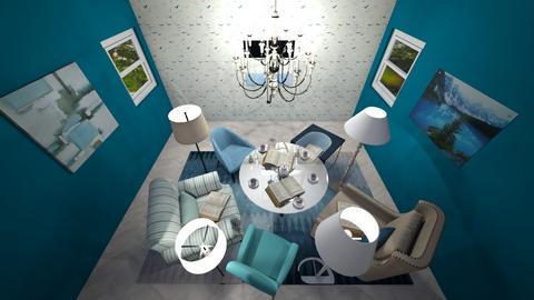 Book Club Floor Lamp - by kamonela09