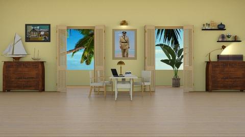 Selwyn Patterson - Eclectic - Office  - by Elenny
