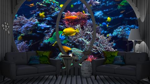 Underwater Living - Glamour - Living room  - by Twice and Bp