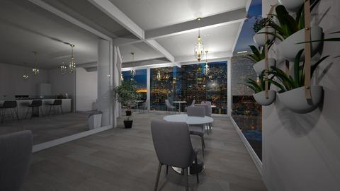 Meu Restaurante  - Modern - Dining room  - by Camila_Chaos