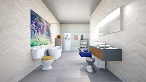 White bathroom - Bathroom  - by lianlv