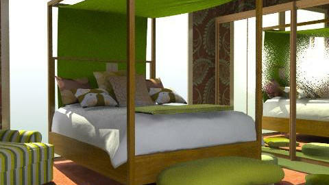 leaves - Eclectic - Bedroom - by chania