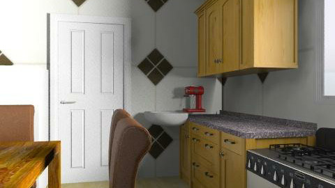 Kate - Classic - Kitchen - by Kateruna