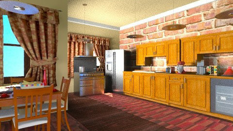 Country Kitchen - Eclectic - by wiljun