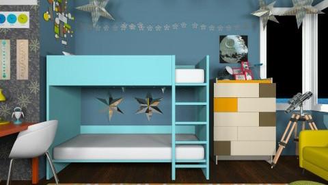 Quantum Leap - Kids room  - by lauren_murphy