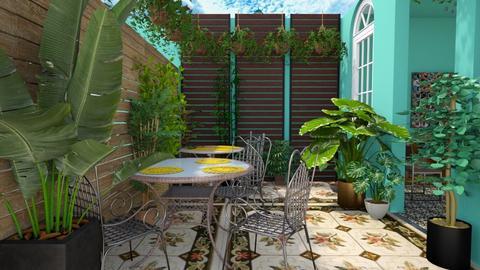 Havana - Garden  - by nkanyezi