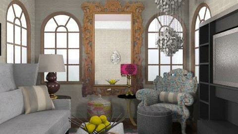 upper east side apartment - Glamour - Living room  - by whatsmyname