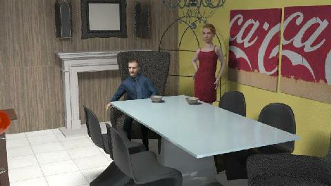 Triple D - Dining Room  - by marsambo