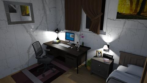 Simple Bedroom 2 - Minimal - Bedroom - by GalangPratama