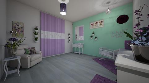 Lilac Nursery - Kids room  - by b sharp
