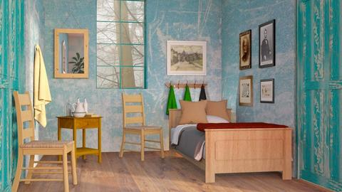 Van Gogh Bedroom - Eclectic - Bedroom  - by Sally Simpson