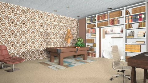 Eclectic office - Eclectic - Office  - by Tyler93