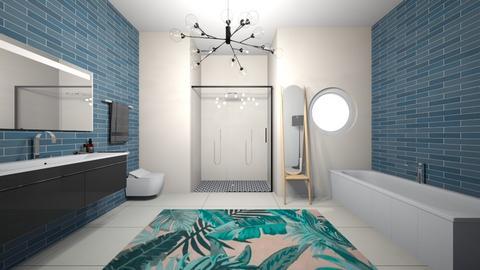 bathroom  - by Thamara Cummer