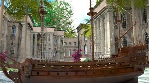 Gulliver's Harbour - Classic - Garden  - by Bibiche